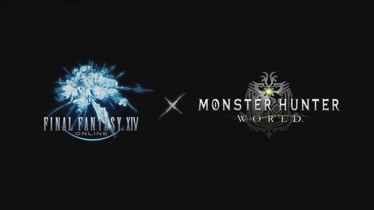 Final Fantasy XIV e Monster Hunter World si incontrano ad Agosto!