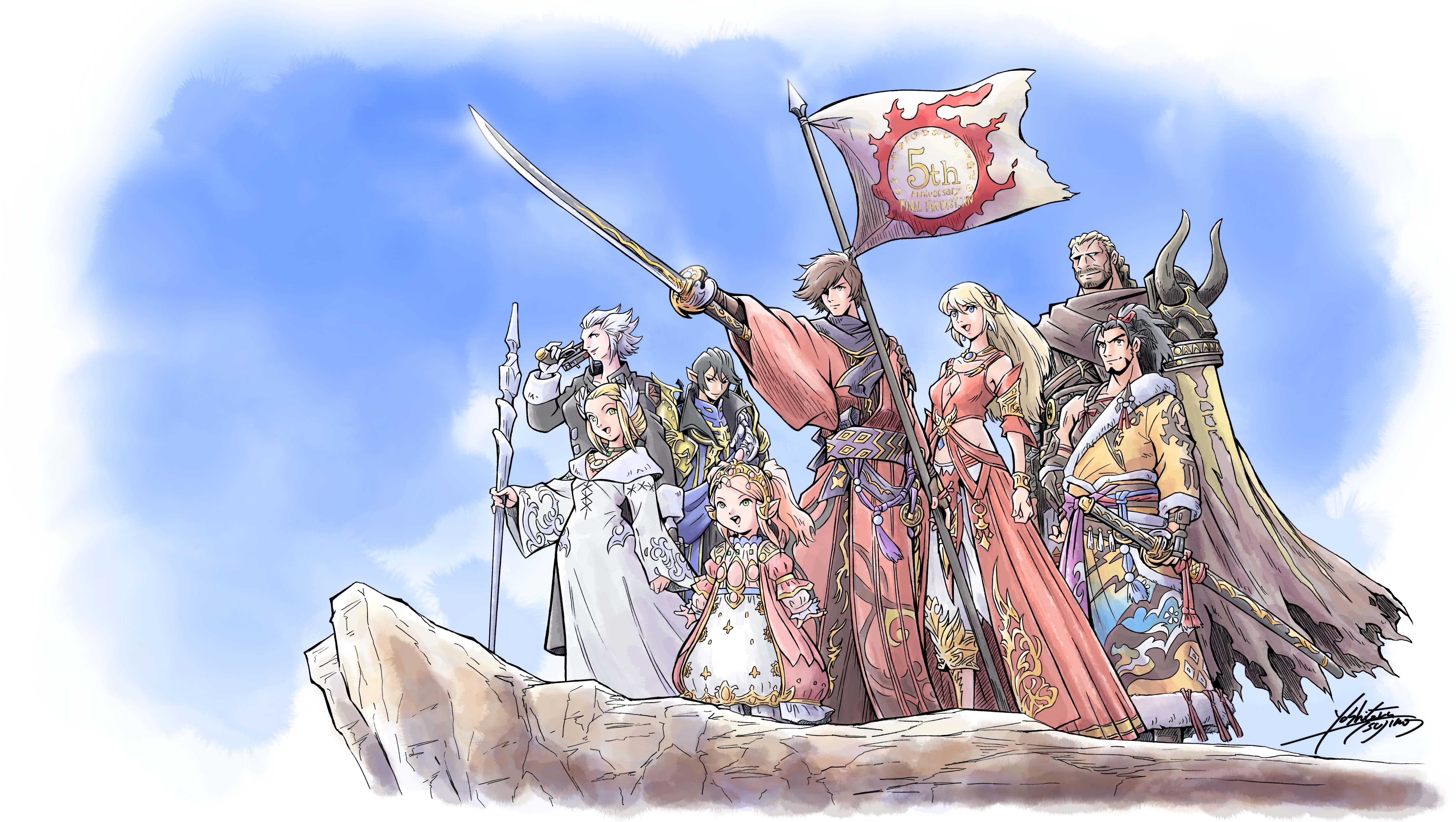 Final Fantasy XIV supera i 14 milioni di giocatori!