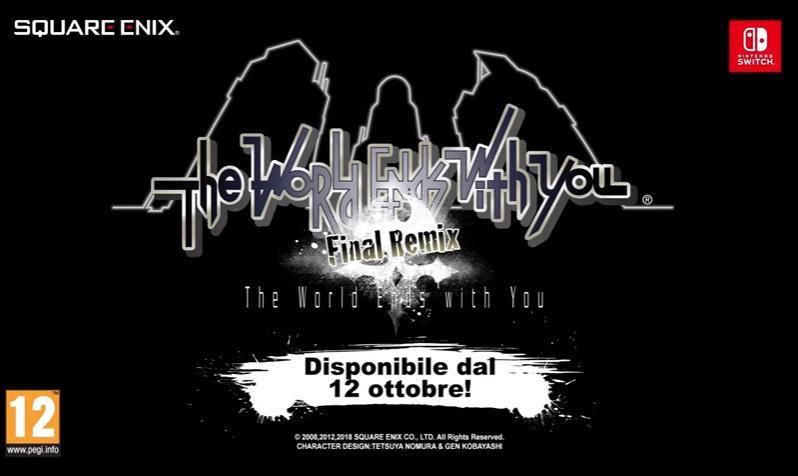 The World Ends With You Final Remix in Italia il 12 Ottobre, sottotitoli italiani confermati!