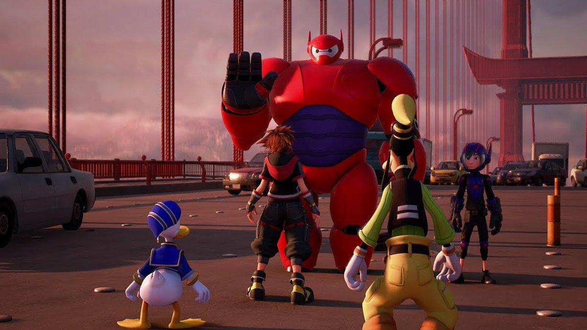 Nuovo trailer per Kingdom Hearts III mostra Big Hero 6, versione estesa attesa per il 18 Settembre!