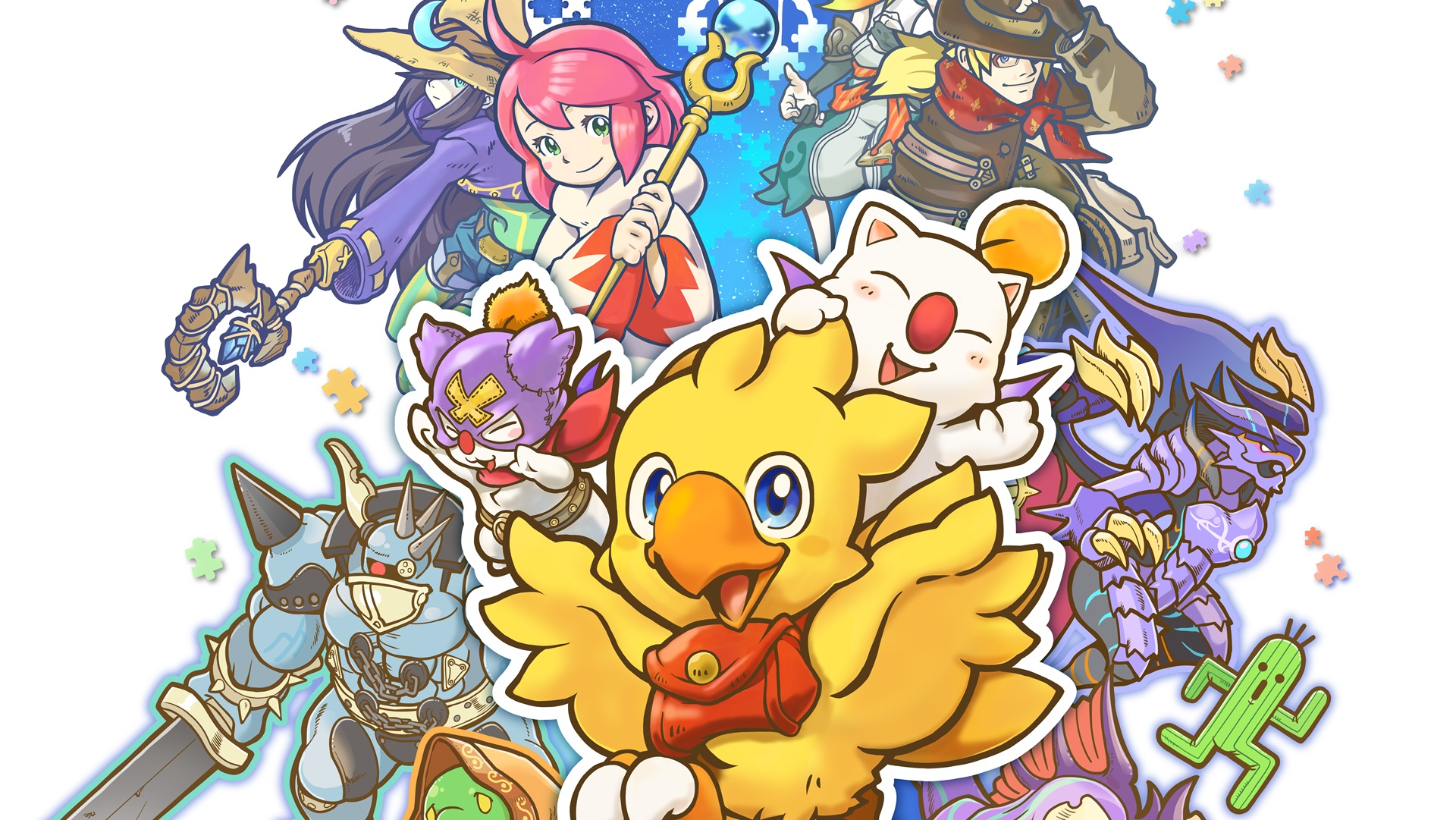 [TGS2018] Trailer per Chocobo's Mystery Dungeon Every Buddy!