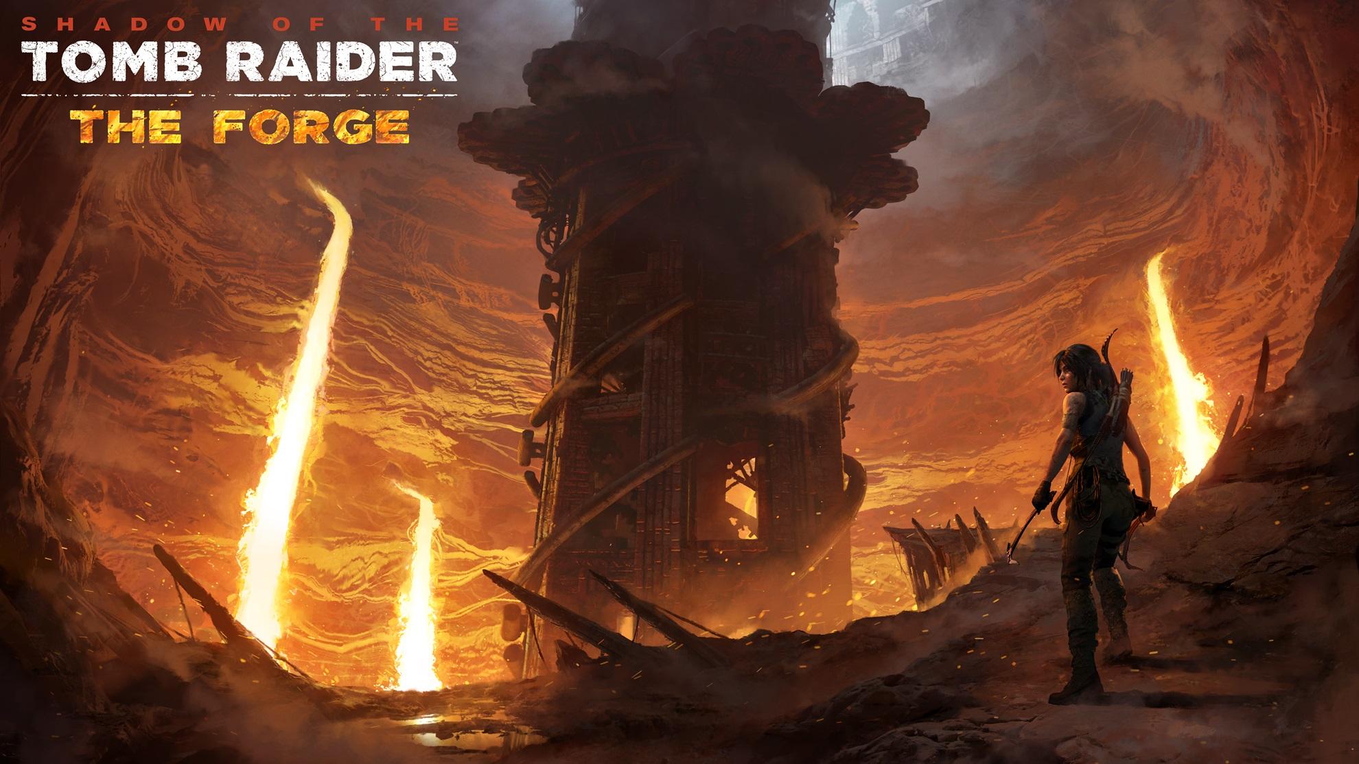 """""""The Forge"""" è il primo DLC di Shadow of the Tomb Raider, in arrivo 13 Novembre!"""