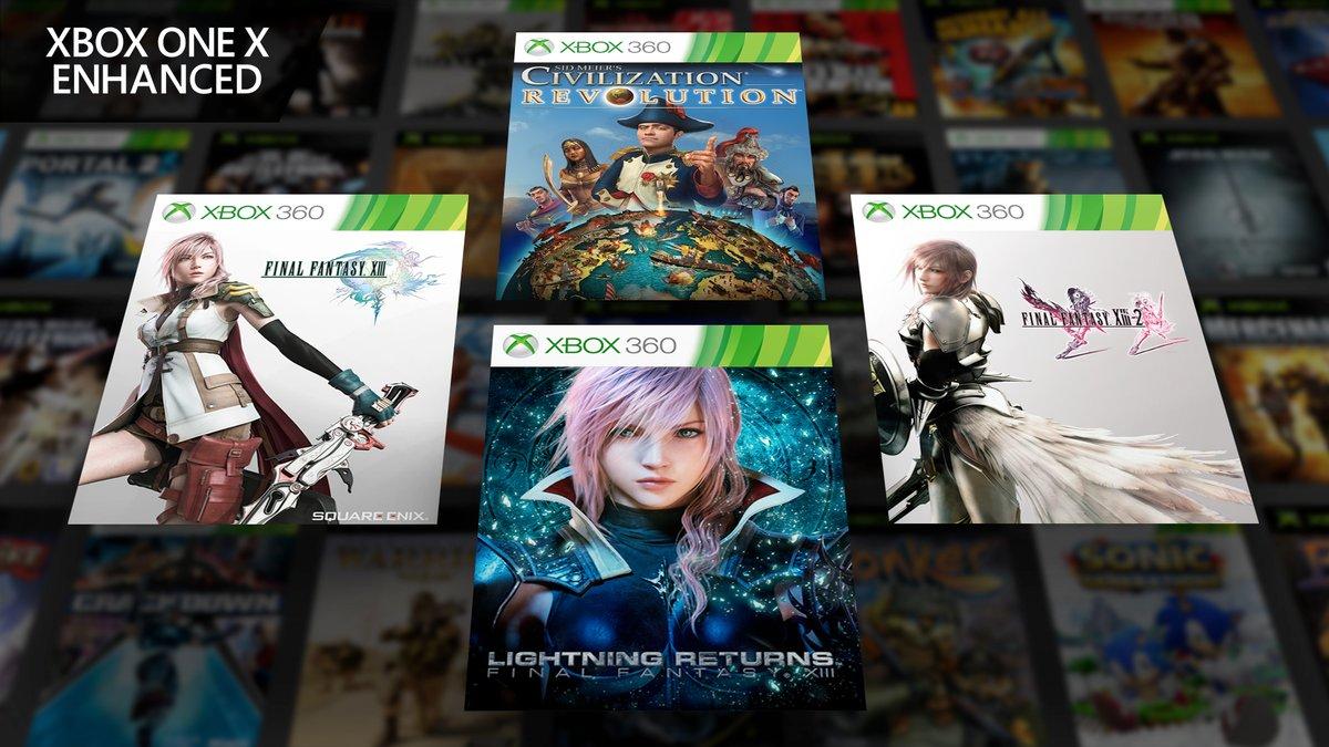 Annunciata la retrocompatibilità per la trilogia di Final Fantasy XIII su Xbox One!