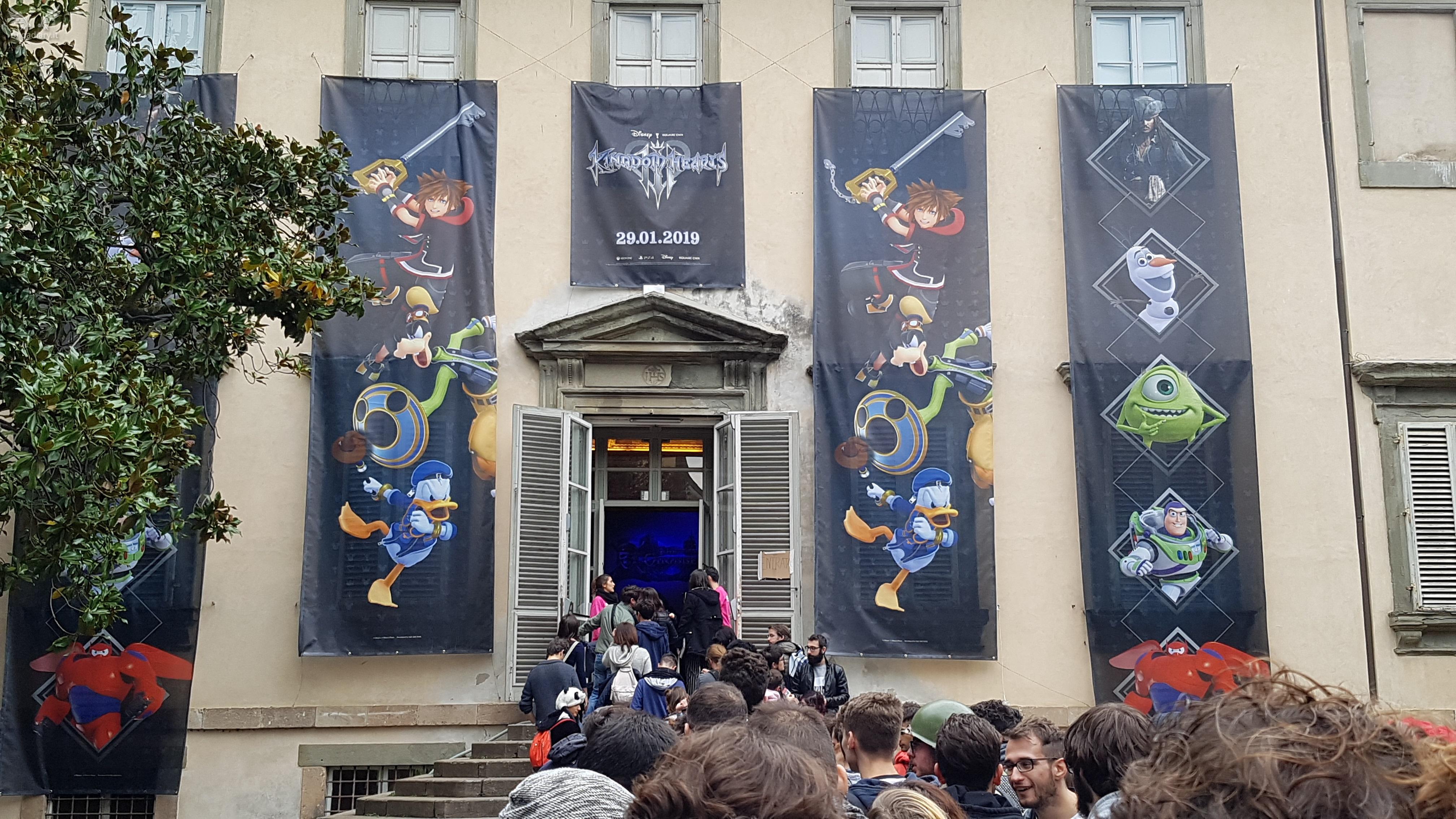 Recap fotografico del panel Kingdom Hearts III a Lucca Comics&Games!