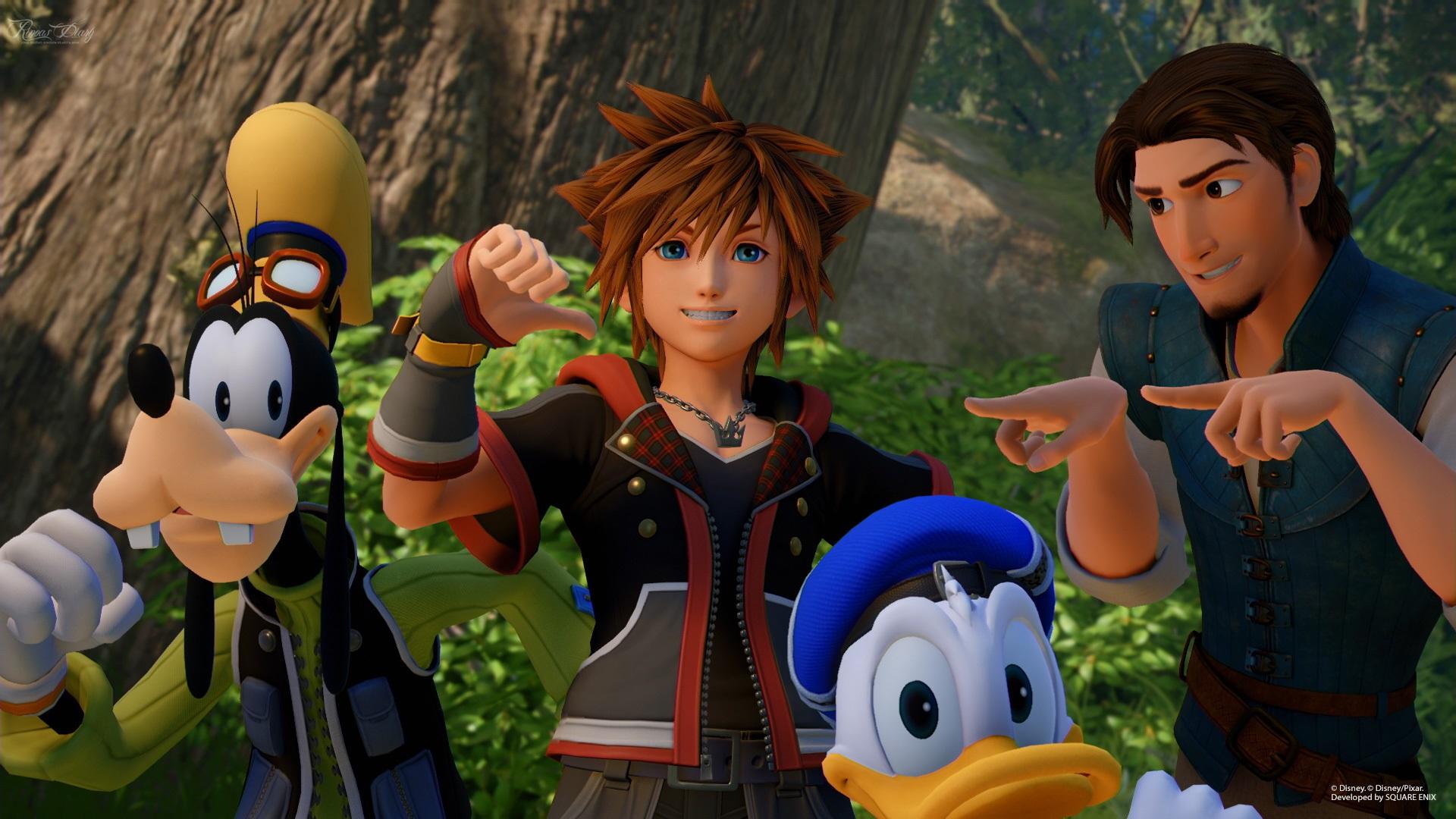 Nuovi screen per Kingdom Hearts III: il Regno di Corona e il Bosco dei 100 Acri!