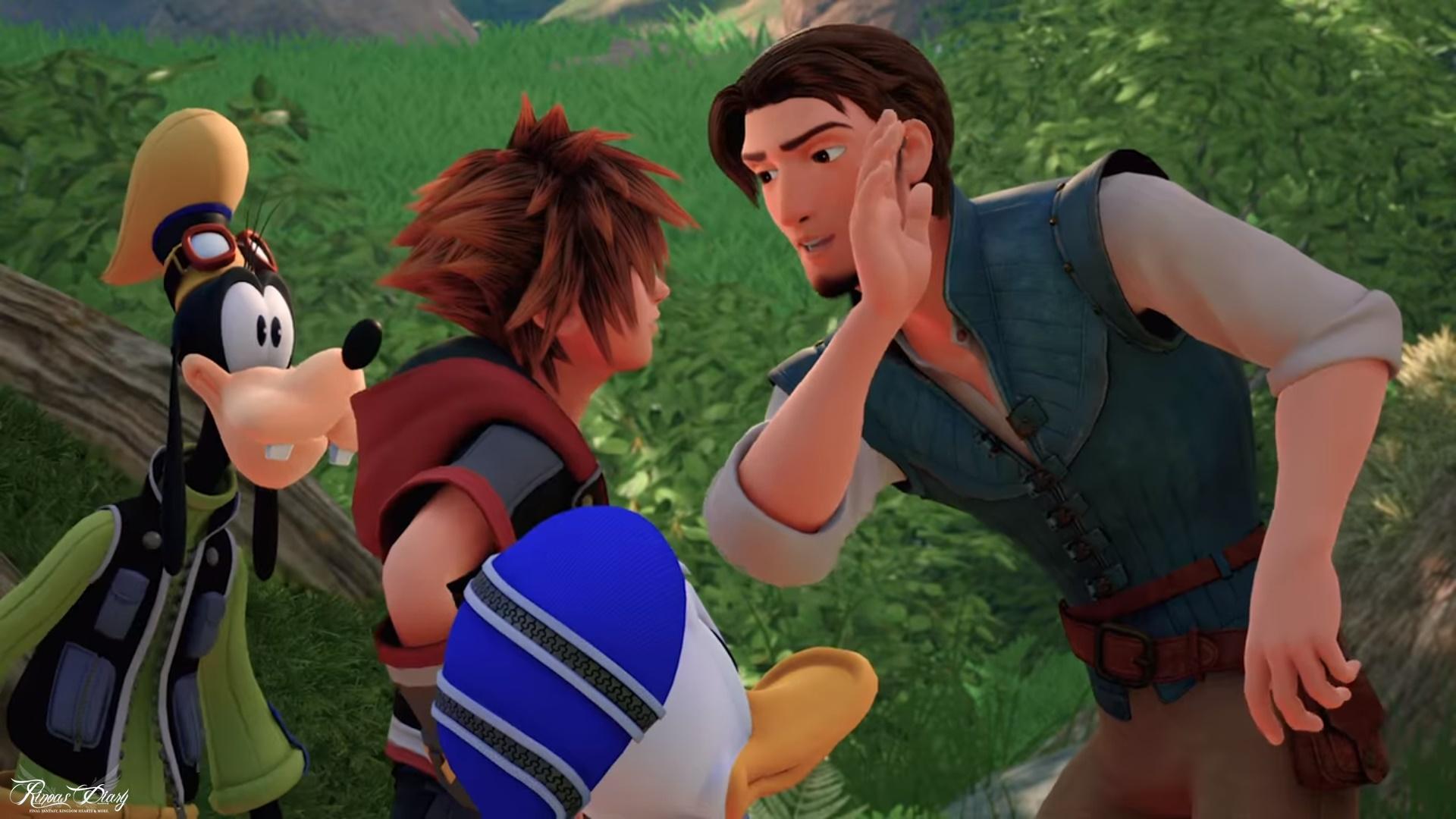 Hashimoto a Lucca presenta a sorpresa un nuovo un trailer di Kingdom Hearts III!