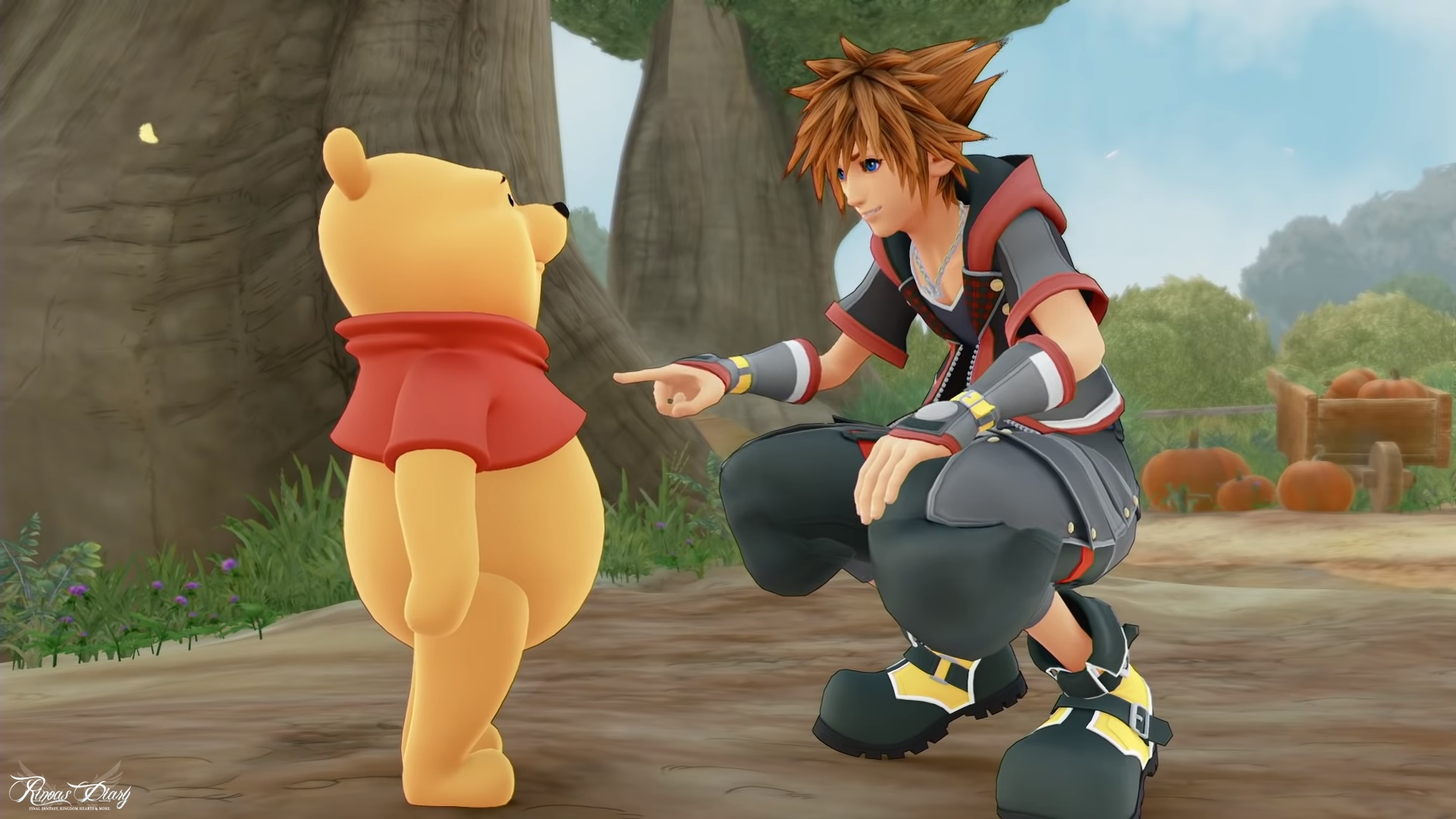 Il nuovo trailer di Kingdom Hearts III mostra il ritorno di Winnie The Pooh!