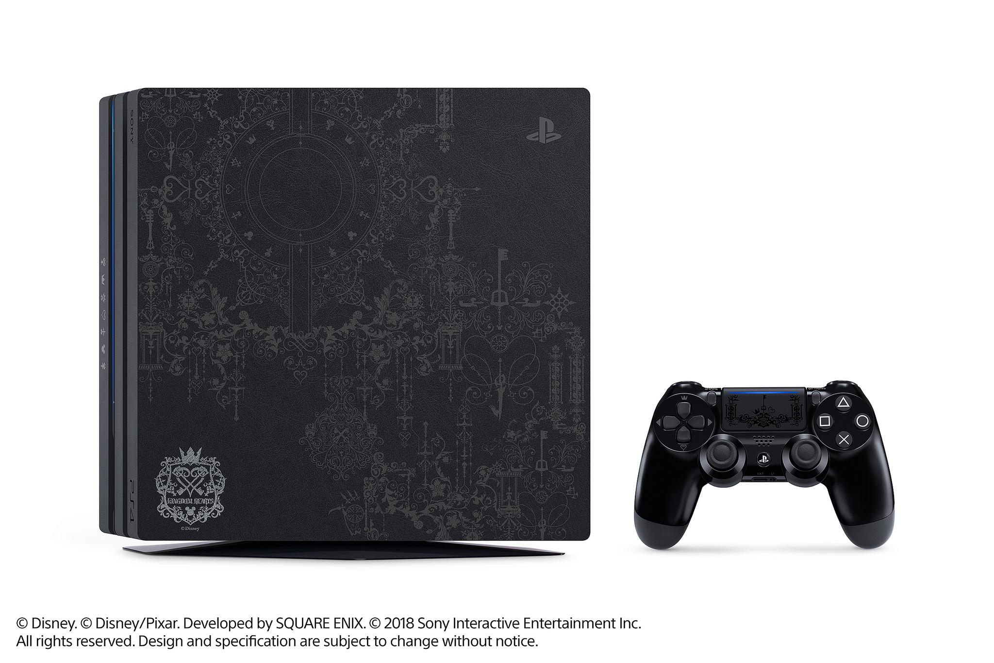 Playstation 4 Pro di Kingdom Hearts III annunciata per l'Europa!