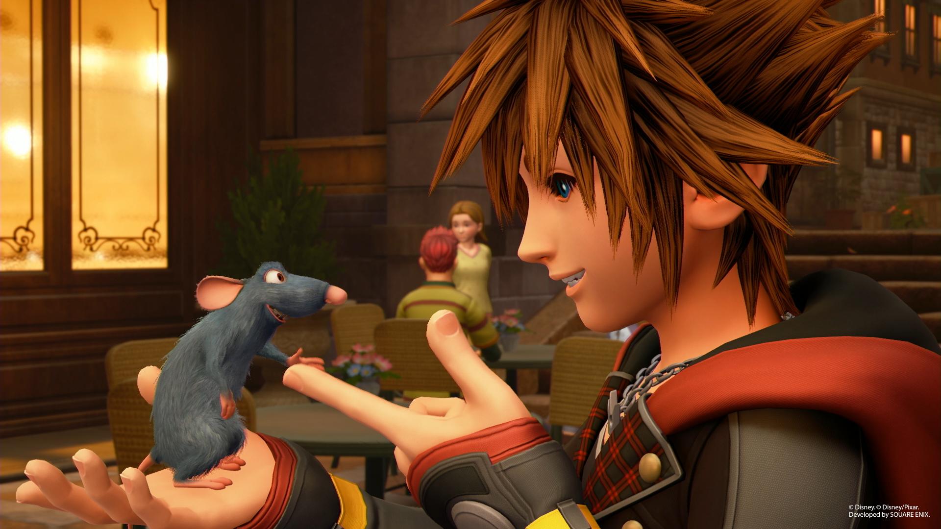Nuove immagini e render di Kingdom Hearts III!