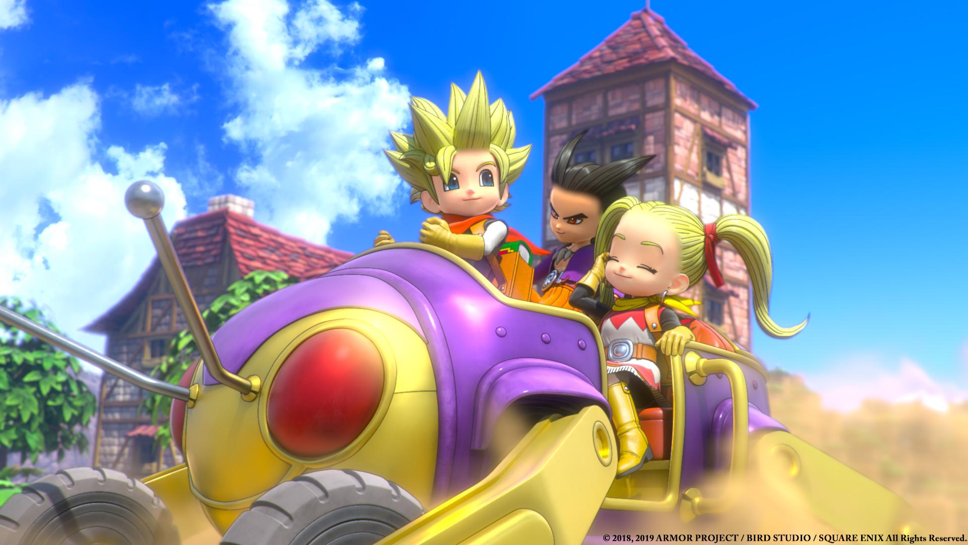 Annunciata la data occidentale di Dragon Quest Builders 2!