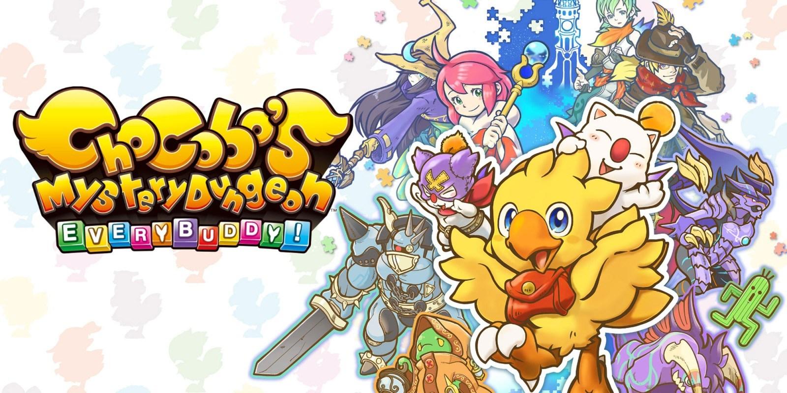 Chocobo's Mystery Dungeon: Everybuddy uscirà il 20 Marzo!