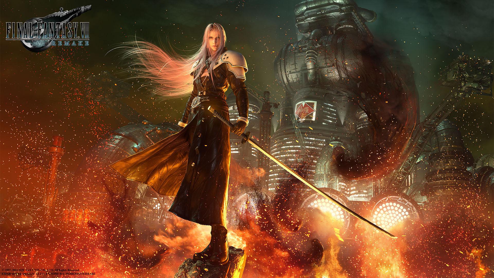 Final Fantasy VII Remake uscirà il 3 Marzo 2020! Nuovo trailer e keyart di Sephiroth!