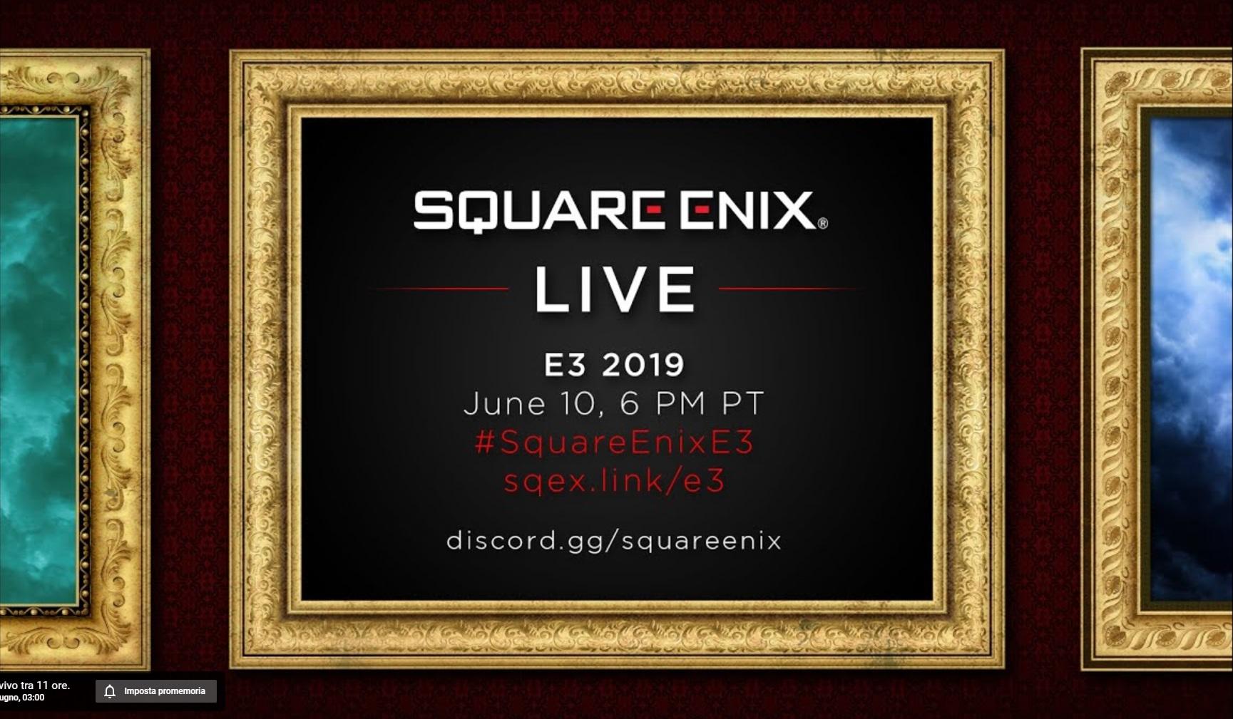 Segui in diretta la conferenza Square Enix Live all'E3 2019!