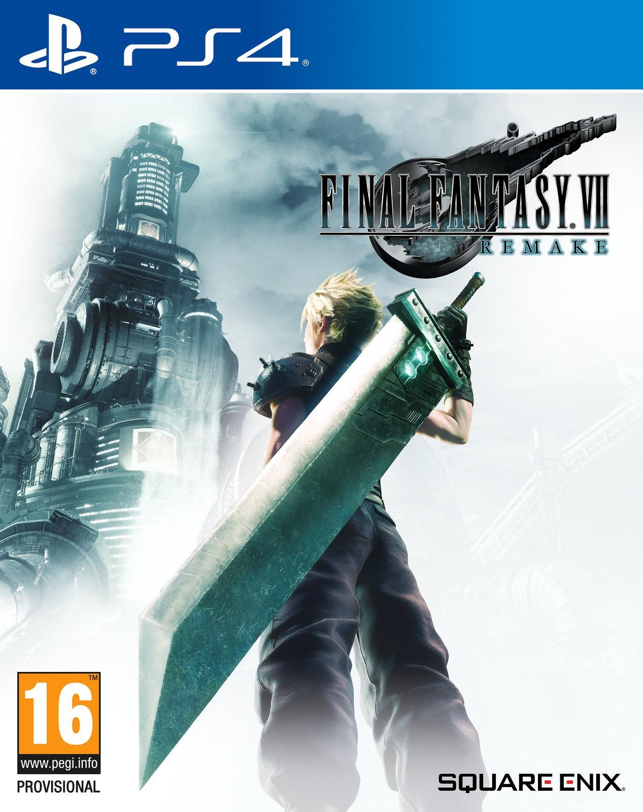 Svelata la box art ufficiale di Final Fantasy VII Remake!