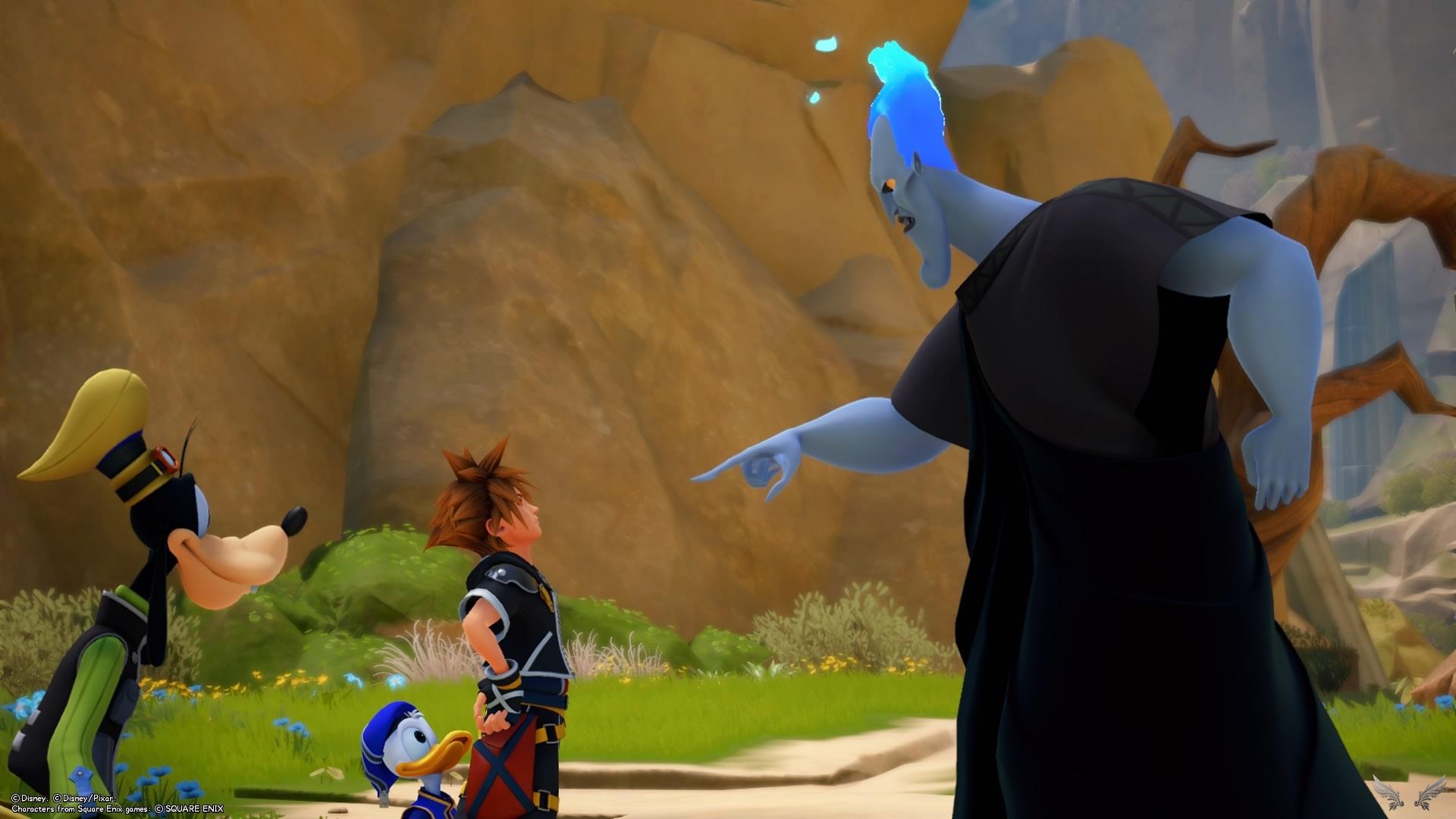 Kingdom Hearts III – Walkthrough: Olimpo – Parte 1 – Rinoa's Diary