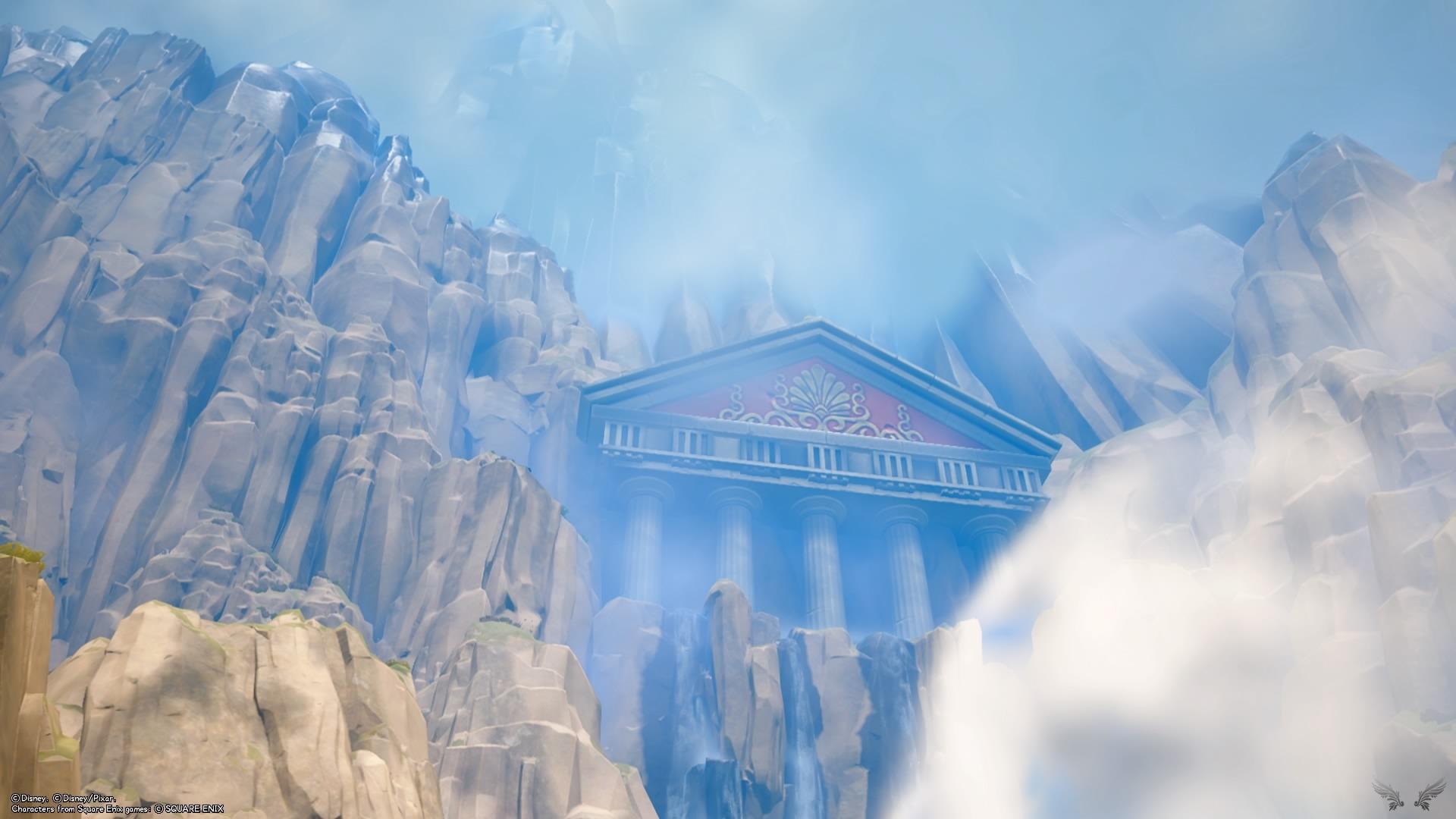 Kingdom Hearts III – Walkthrough: Olimpo – Parte 1