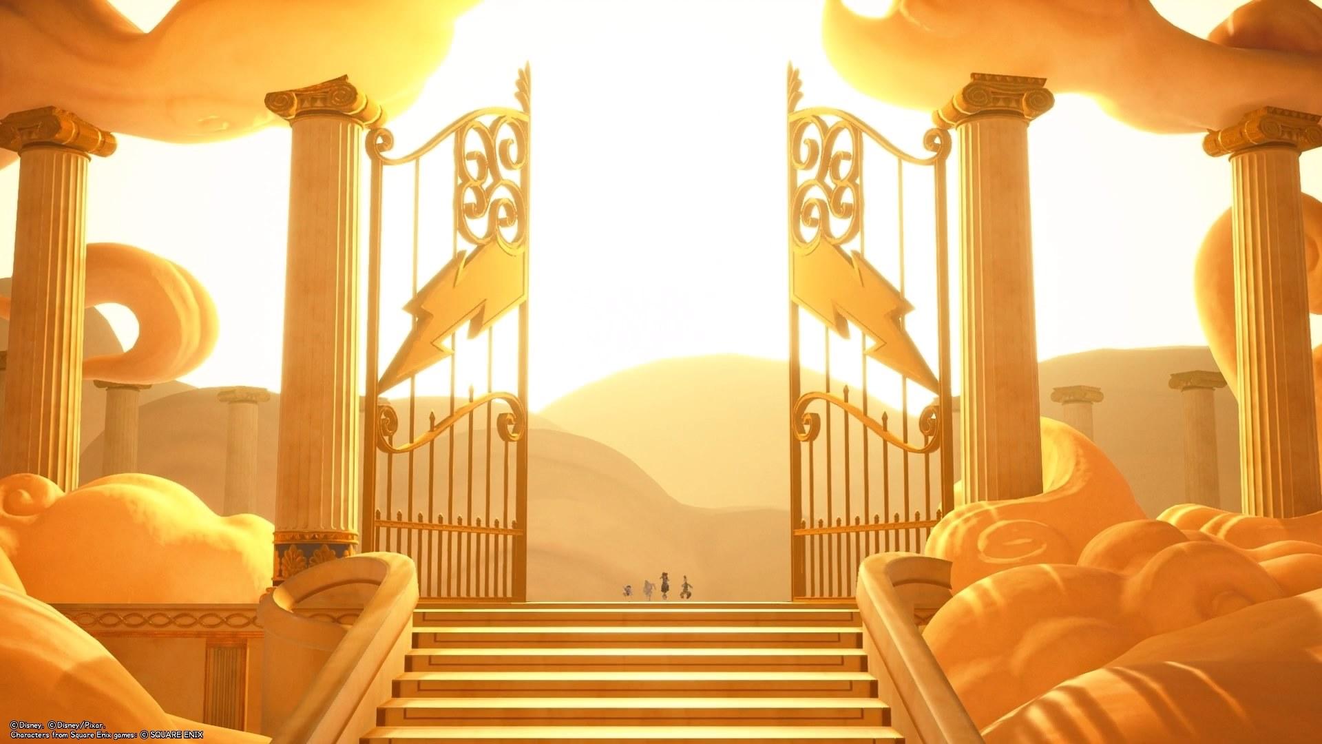 Kingdom Hearts III – Walkthrough : Olimpo – Parte 2