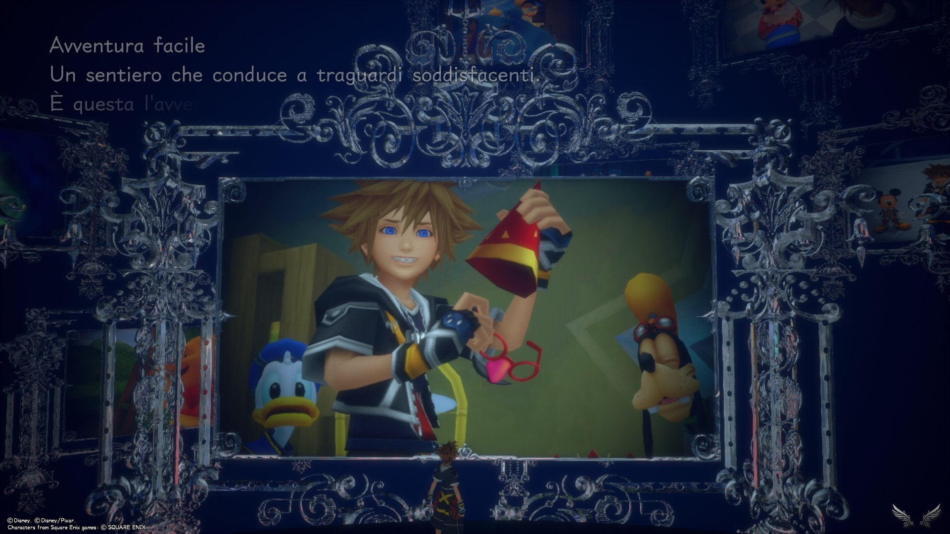 Kingdom Hearts III Re⊕Mind – Premium menu