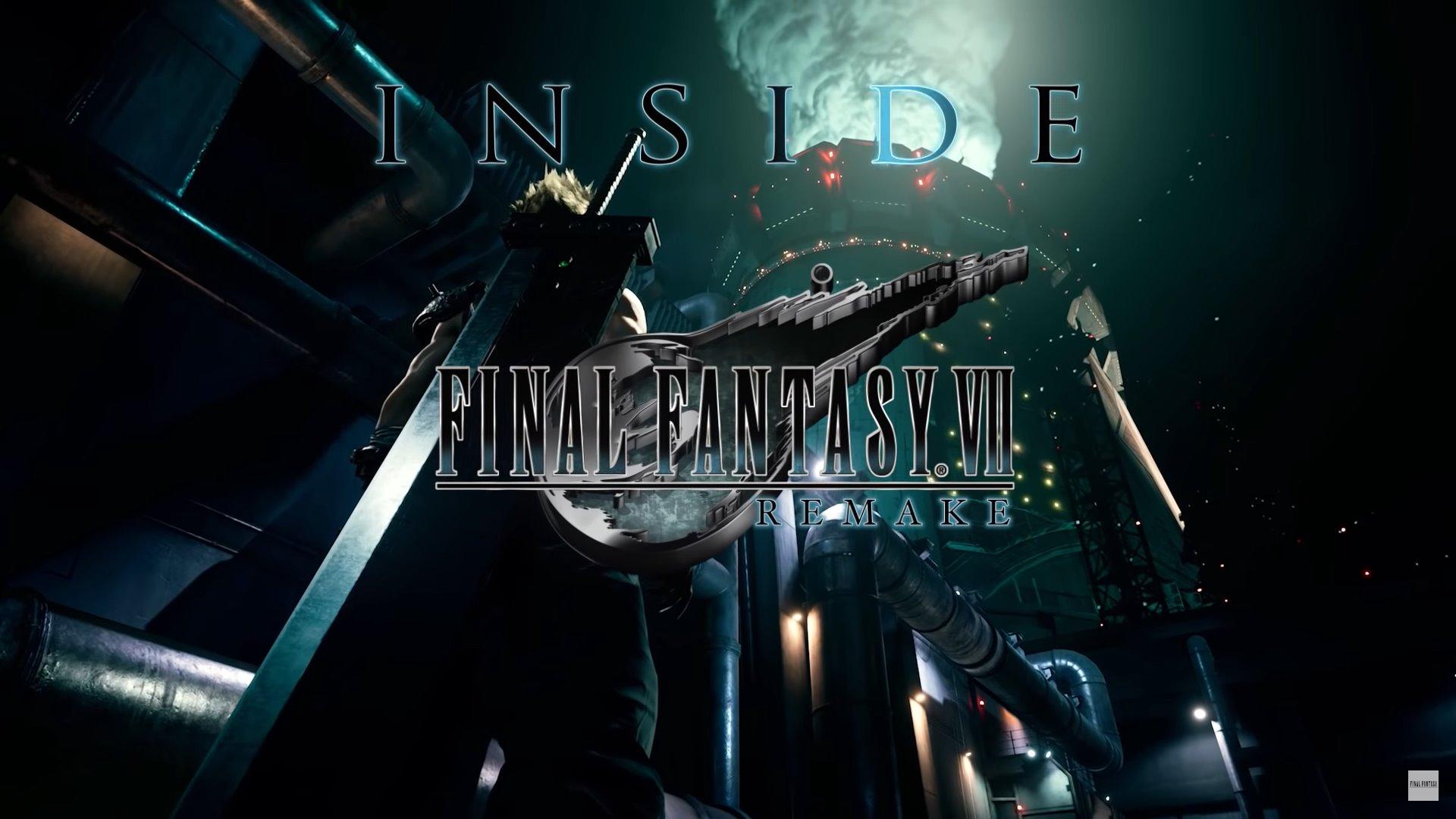 Inside Final Fantasy VII Remake – Episodio 1: Introduzione