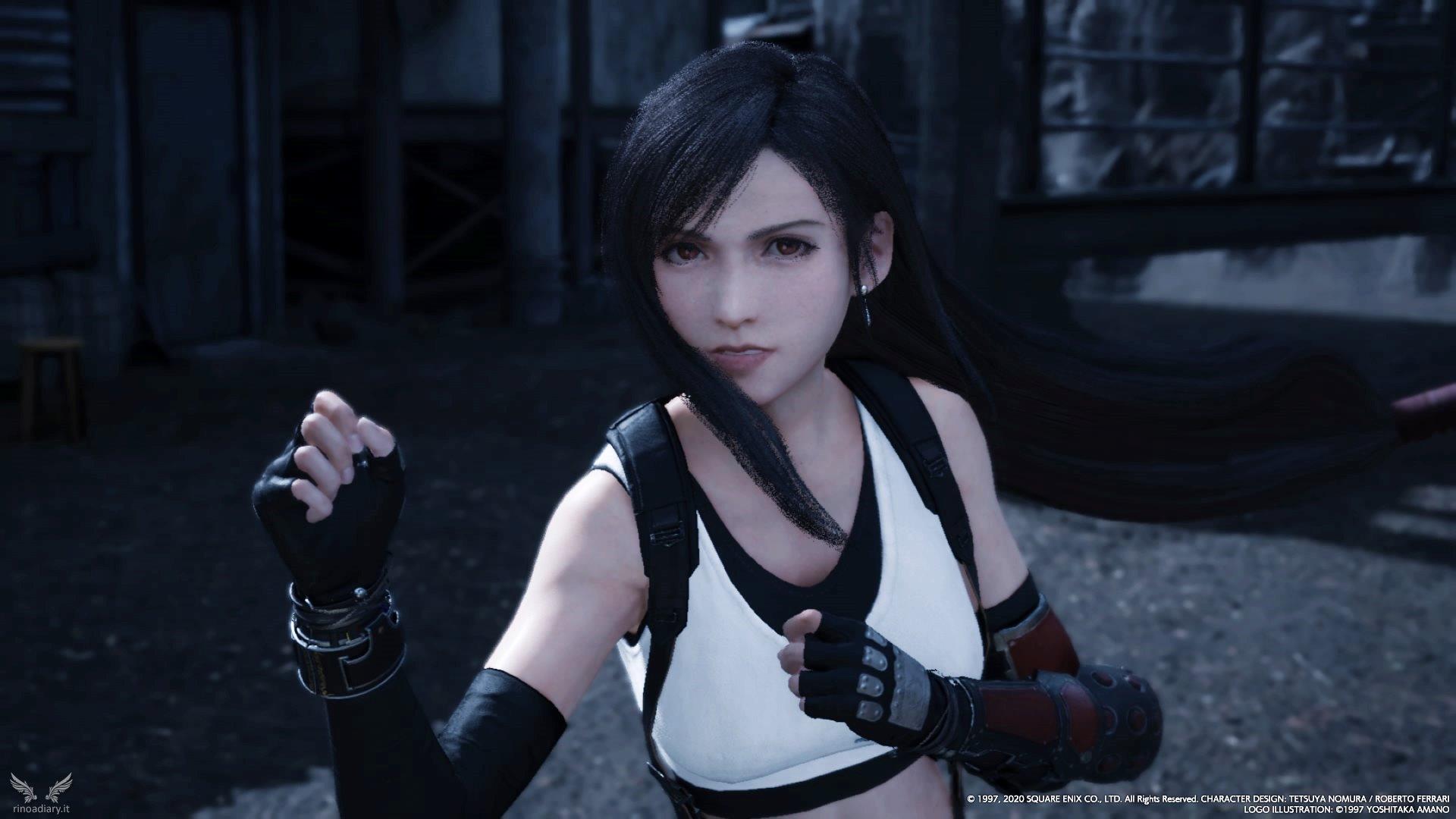 Final Fantasy VII Remake – Le armi di Tifa