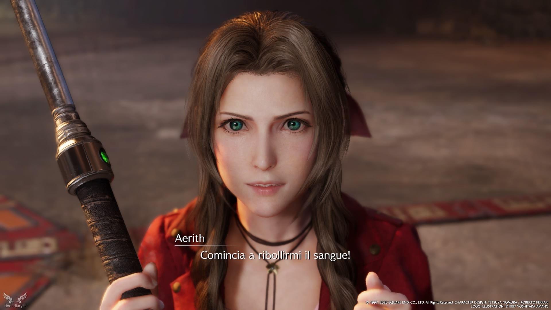 Final Fantasy VII Remake – Le armi di Aerith