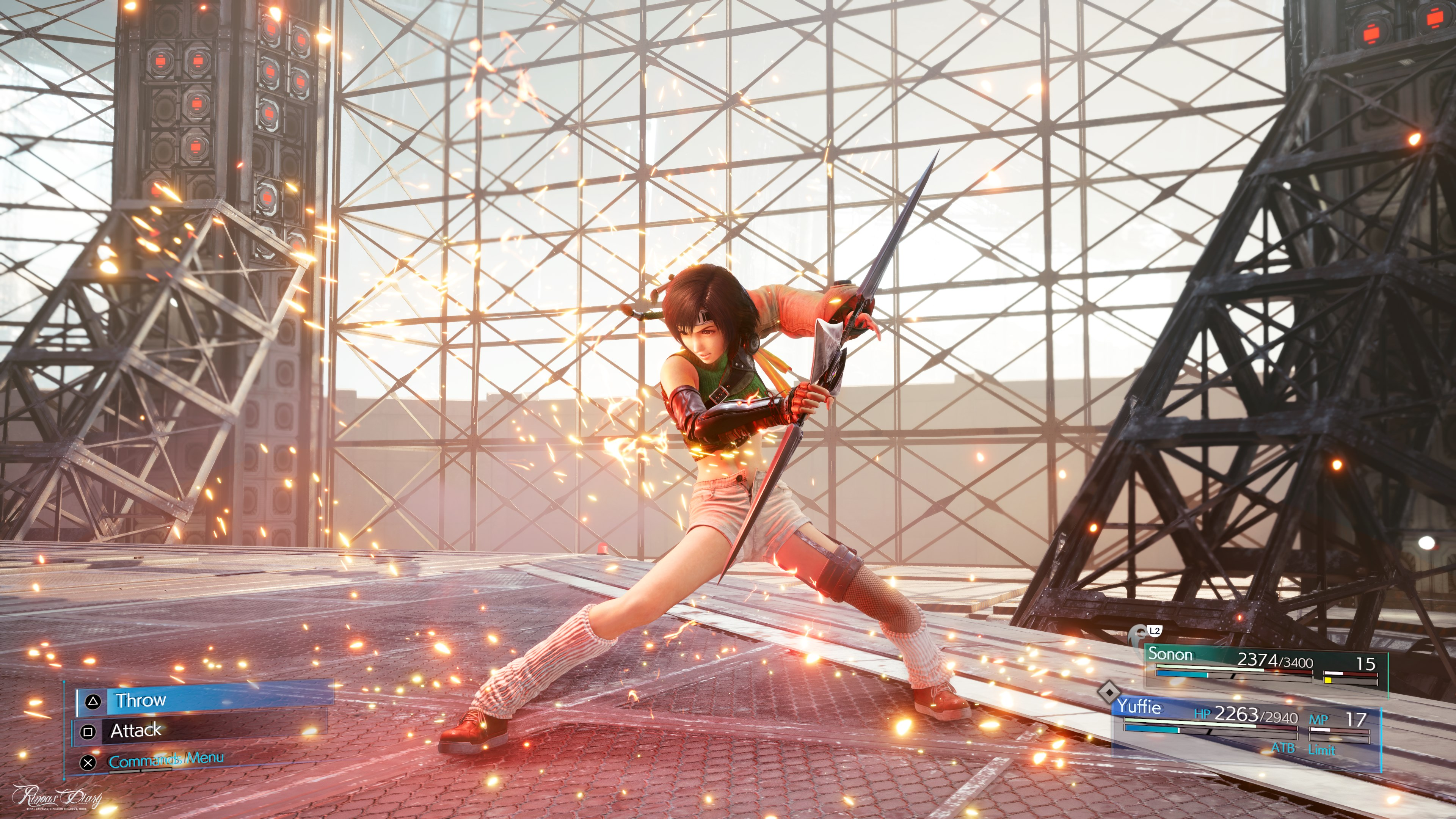 Tetsuya Nomura su Yuffie e FFVII Remake Intermission