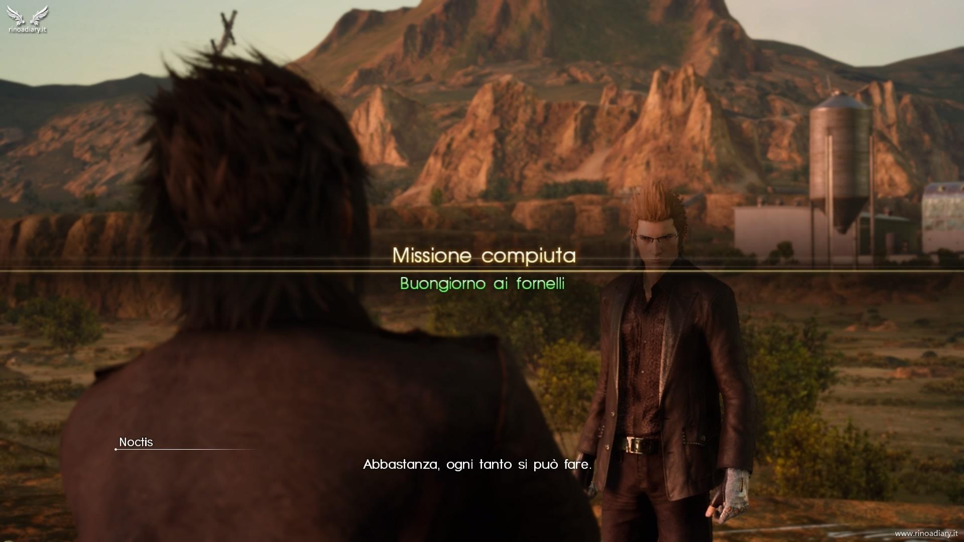 Final Fantasy XV – Missioni Secondarie del Capitolo 1, sezione 1 – Leide: regione di Hammerhead