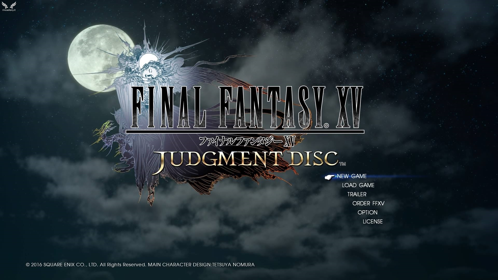 I bug della demo Judgment Disc di Final Fantasy XV