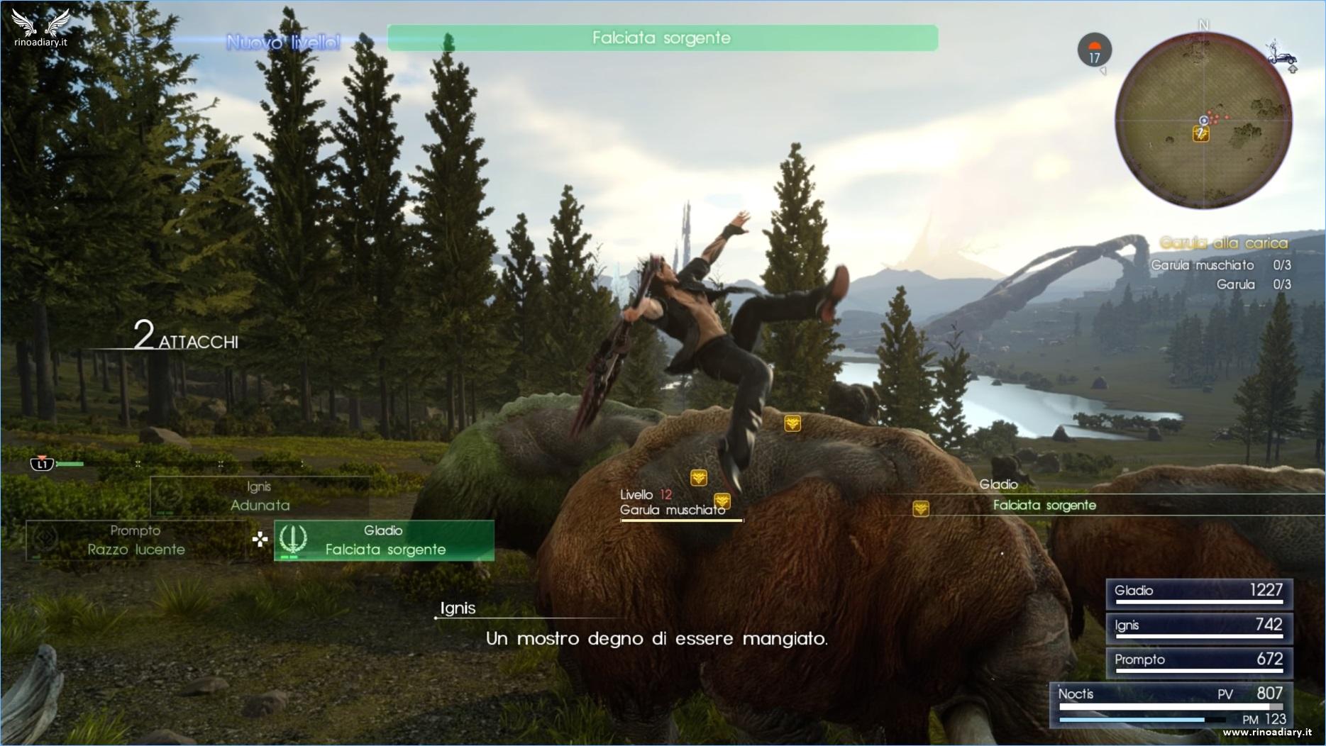 Tabata sta lavorando ad un Bestiario per Final Fantasy XV