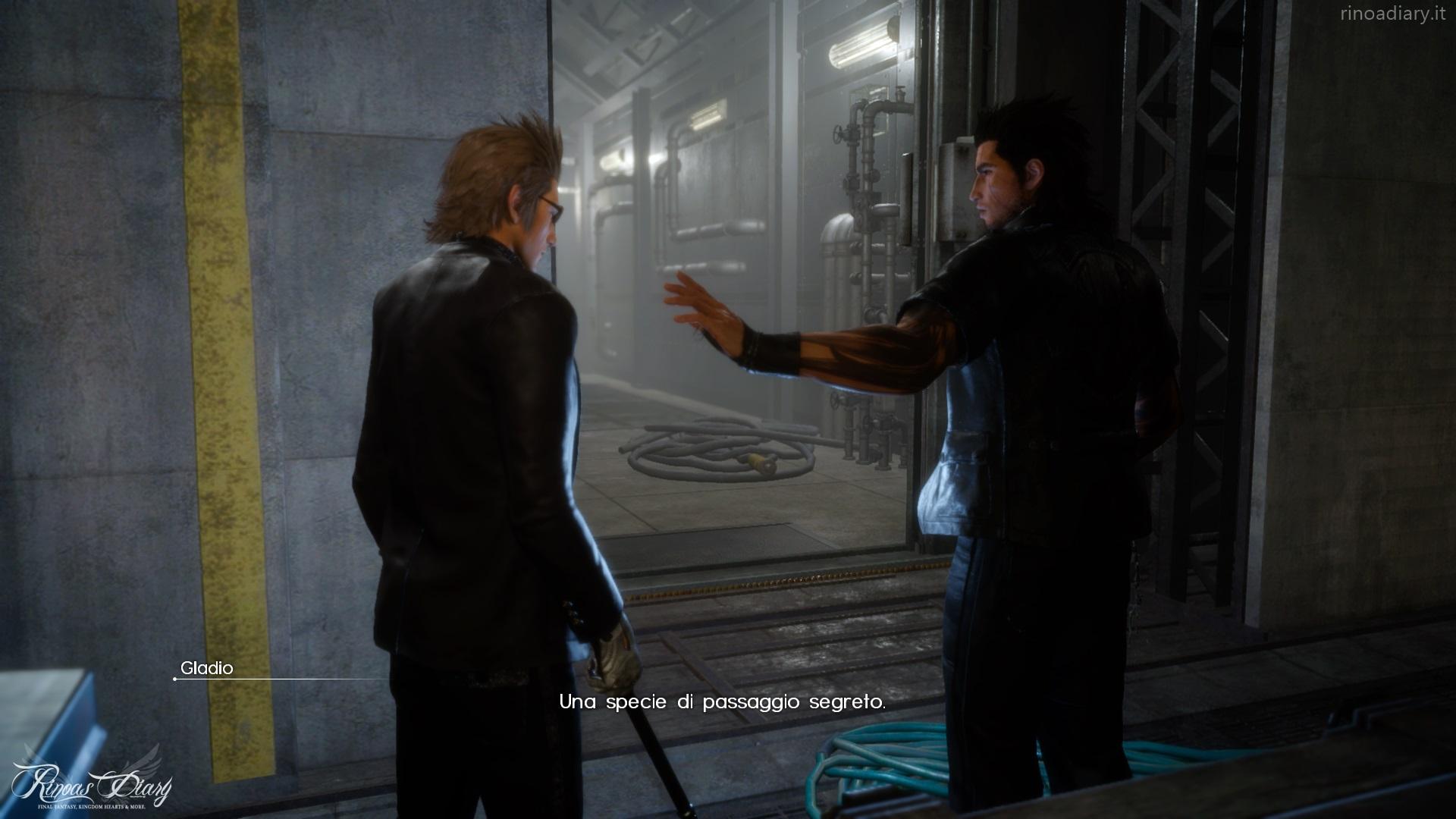 Info e immagini da Final Fantasy XV: Prospettiva Gladio!