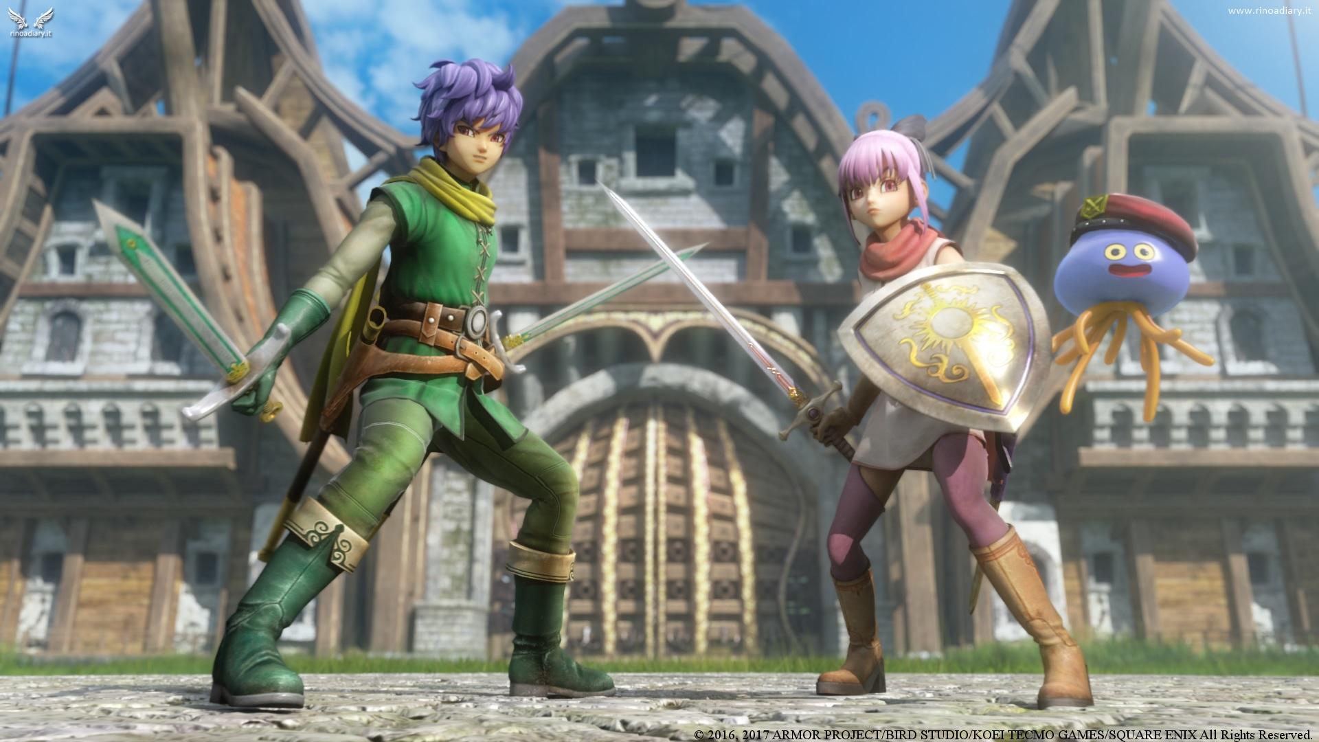 Dragon Quest Heroes II in Europa il 28 Aprile!