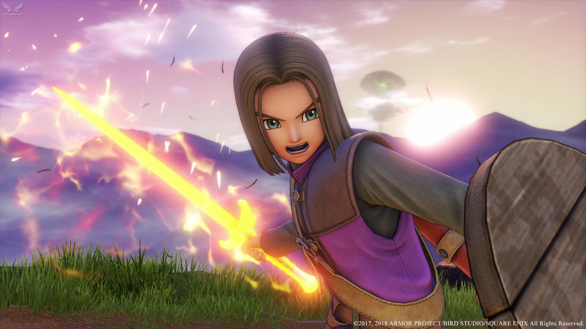 Nuove immagini promozionali per Dragon Quest XI!