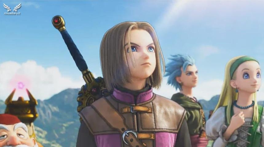 Info e video per Dragon Quest XI, in uscita in Giappone nel 2017!