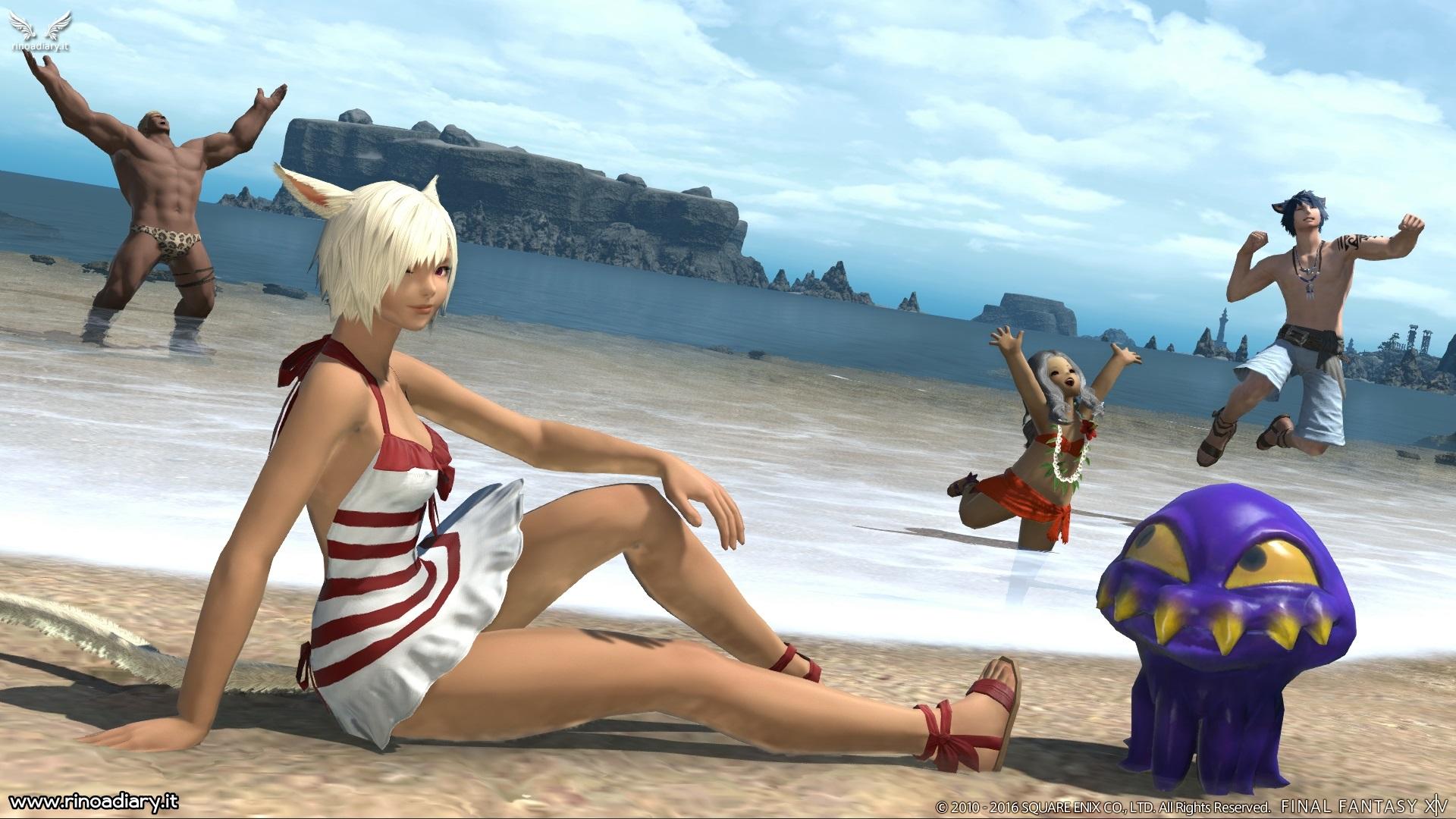 Final Fantasy XIV: con Stormblood… si nuota!