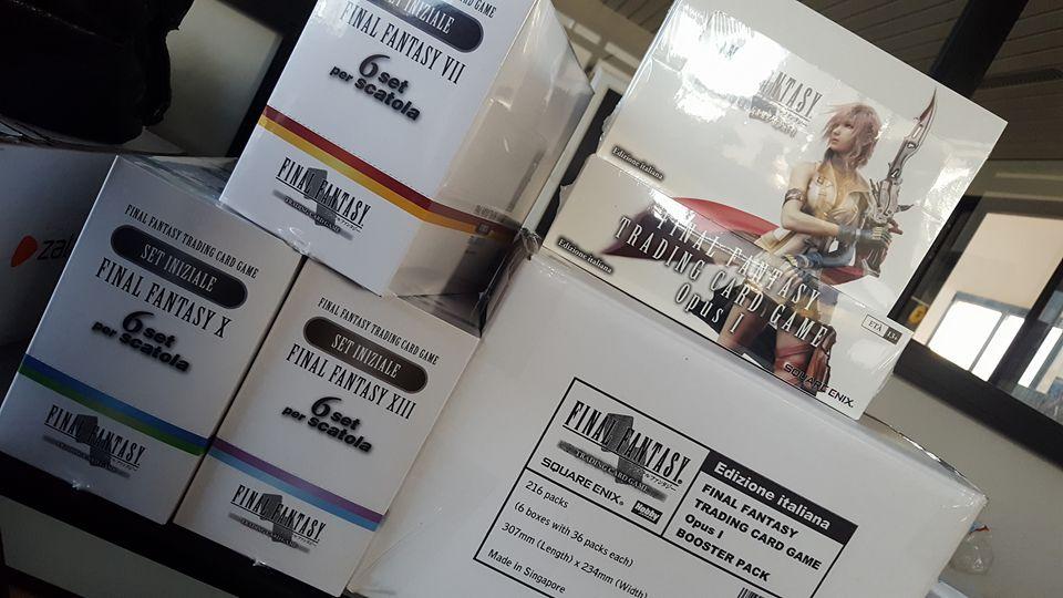 Final Fantasy Trading Card Game arriva ufficialmente in Italia!