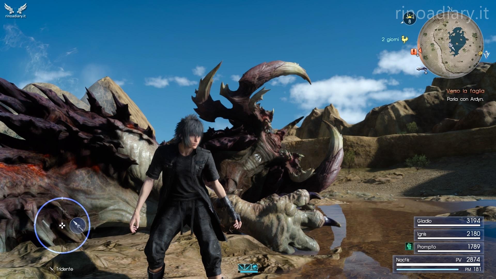 Final Fantasy XV – Missioni secondarie del Capitolo 4 – Ritorno a Leide