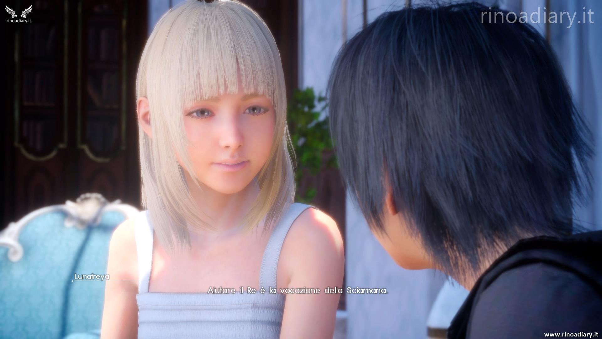 La narrativa (sbilanciata) di Final Fantasy XV è una scelta intenzionale