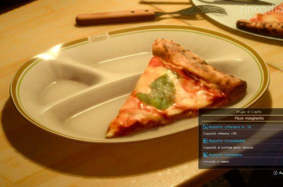 Set Gourmet aggiunge la Pizza margherita a Final Fantasy XV!