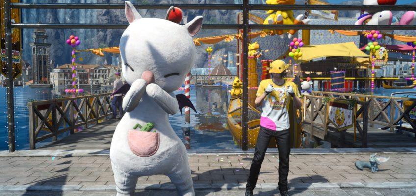 Giochi e attrazioni del Moogle Chocobo Carnival di Final Fantasy XV!