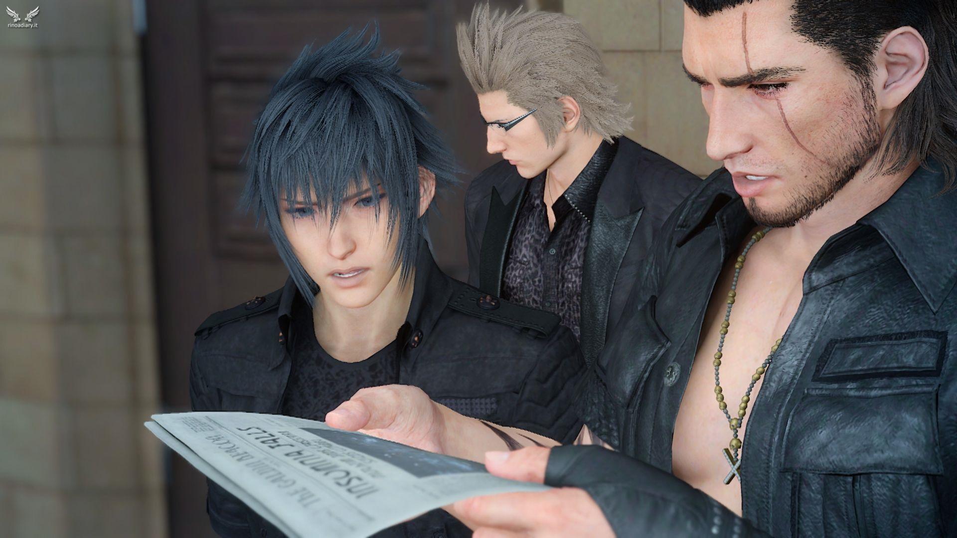 In sviluppo un MMO per cellulari su Final Fantasy XV