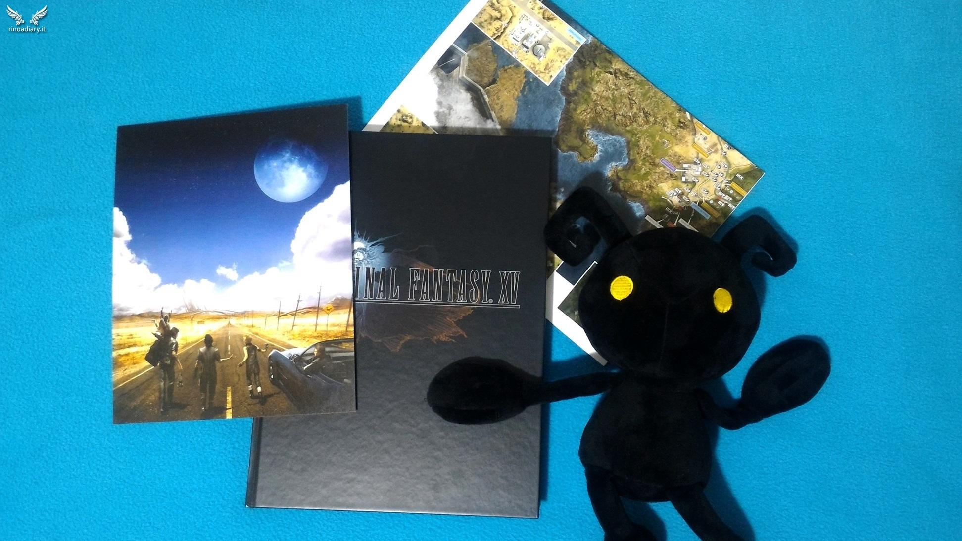 Recensione: la Guida Ufficiale da Collezione di Final Fantasy XV