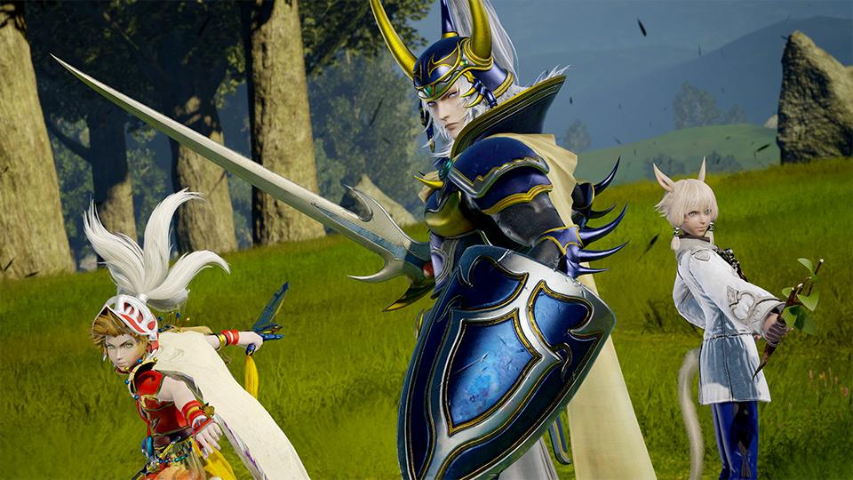 Un nuovo personaggio di Dissida Arcade Final Fantasy sarà annunciato il 7 Novembre