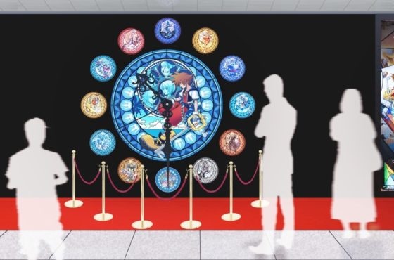 "La campagna ""Memorial Stained Glass Clock"" per celebrare i 15 anni di Kingdom Hearts"