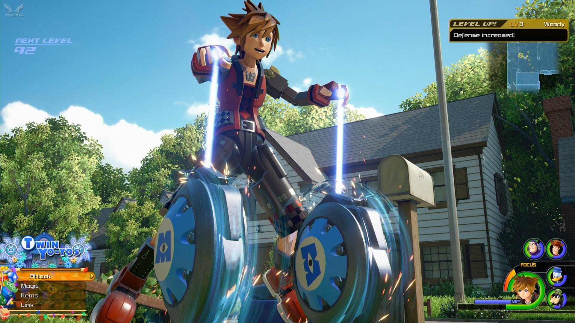 I render di Kingdom Hearts III mostrati al KH3 Premiere!