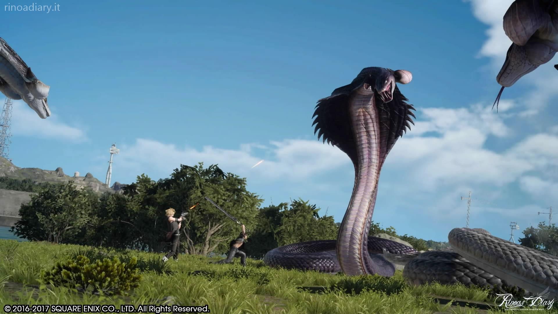 Final Fantasy XV – Missione a tempo – Midgardsormr e Utgardsormr