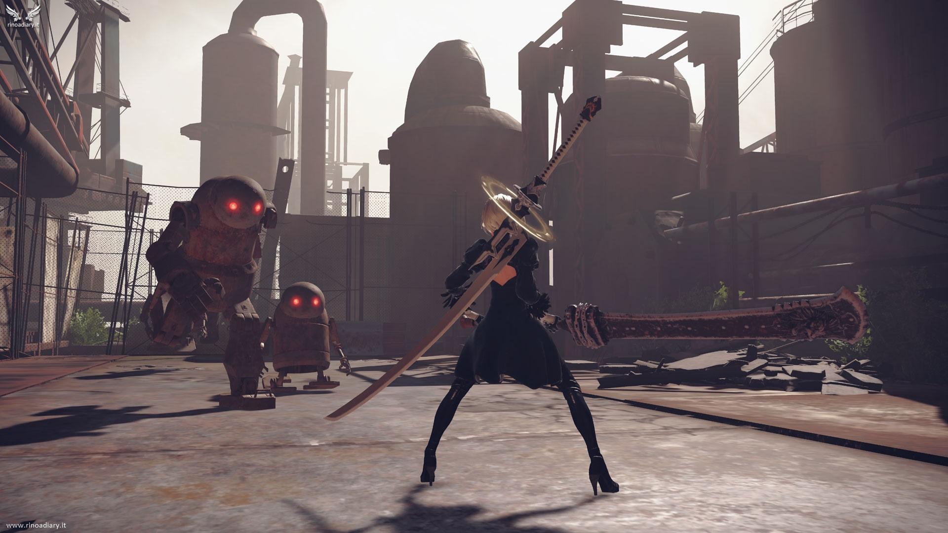 Elegant Destruction, nuovo trailer di NieR: Automata!