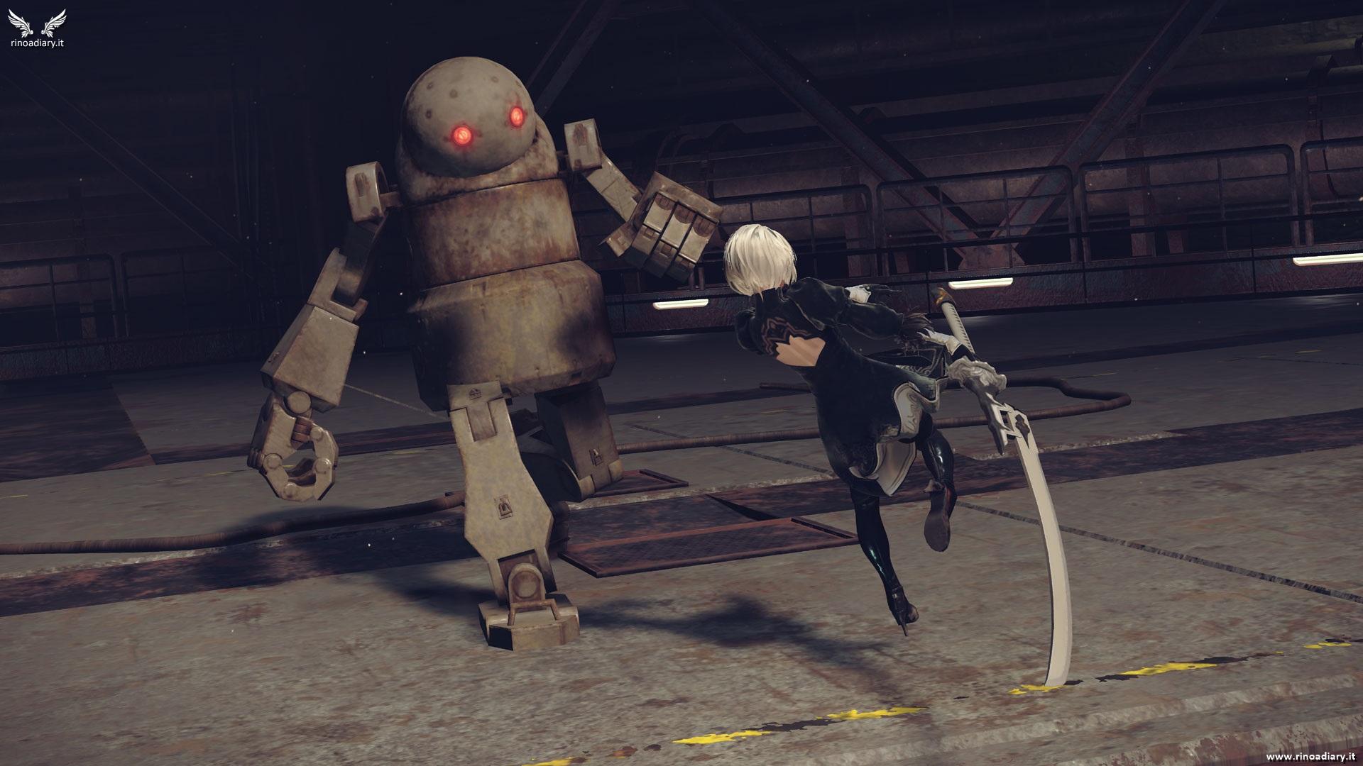 Nuove immagini dalla demo di NieR: Automata!
