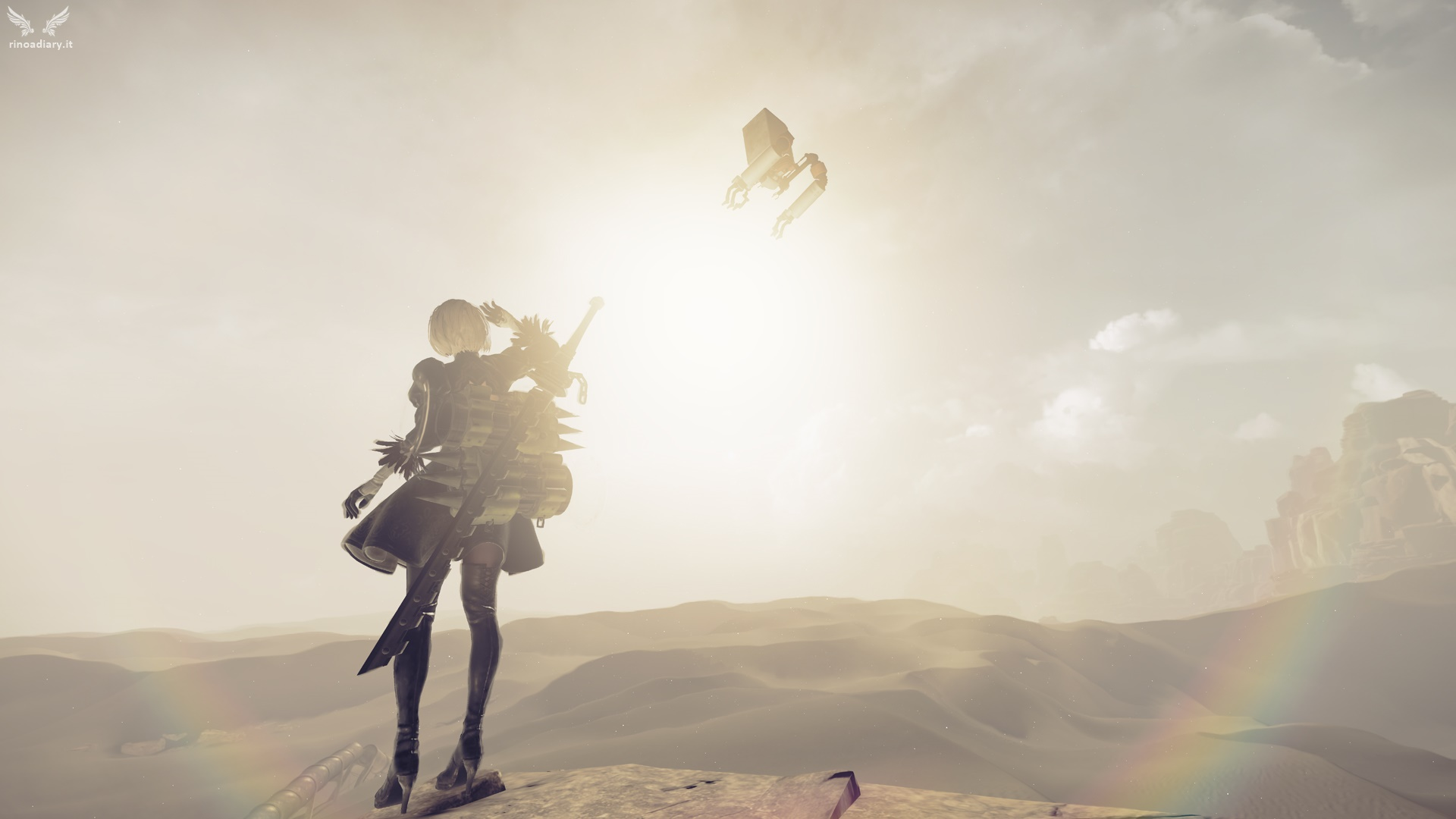 """Death is your beginning"", trailer di lancio di NieR: Automata!"