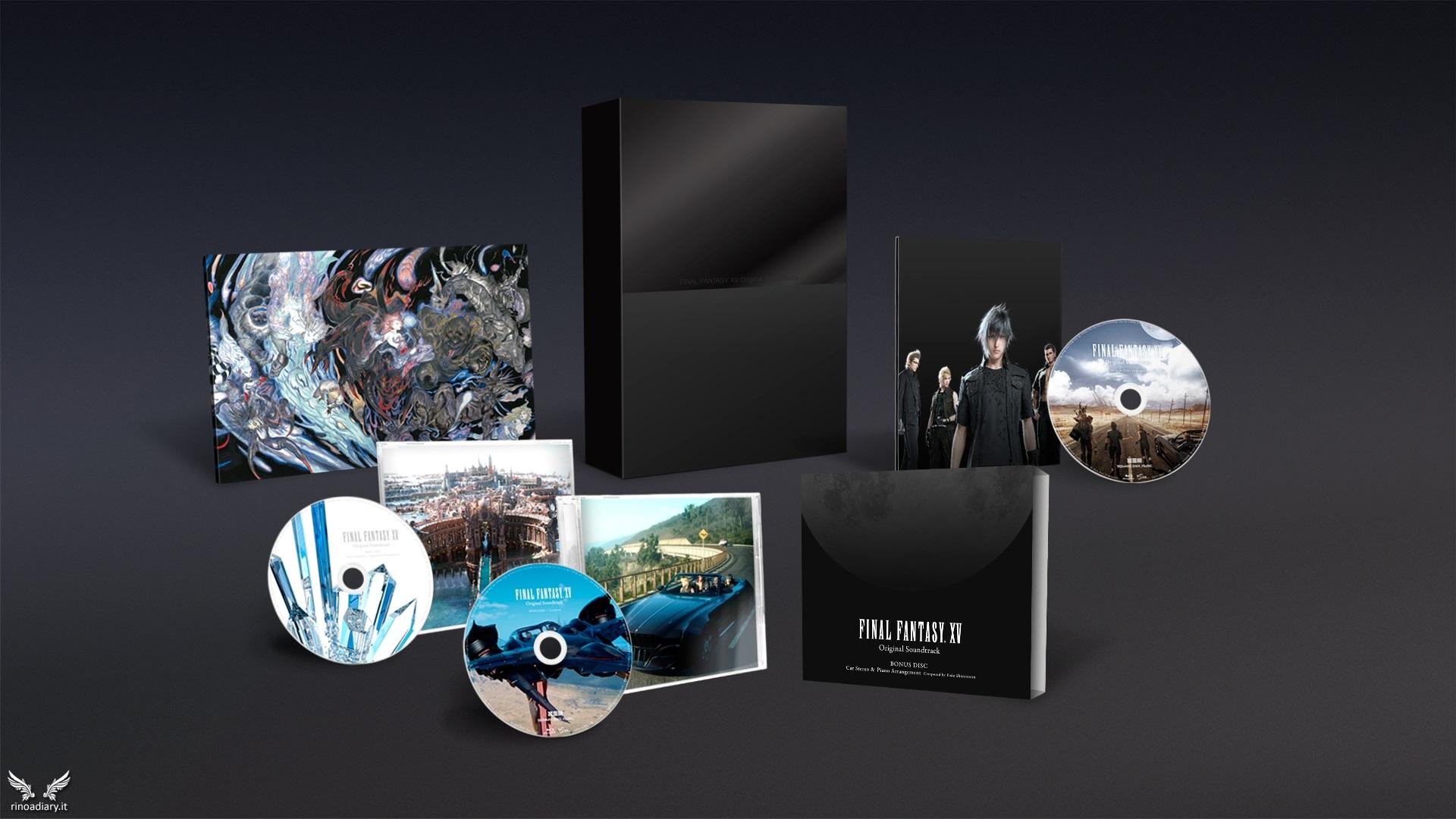 Sullo Store europeo arriva Final Fantasy XV OST Limited Edition!