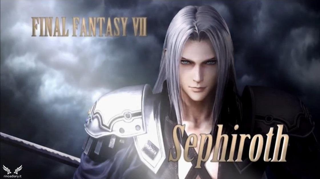 Sephiroth è il nuovo personaggio di Dissidia Arcade Final Fantasy!